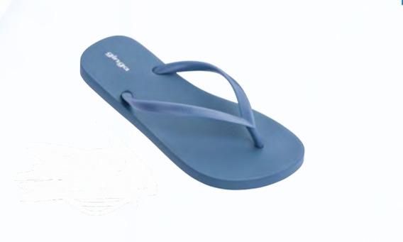 Ojotas Ginga Brasil Goma 35/41 Dama Varón Azul Claro