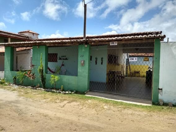 Casa De Praia Toda Reformada, 3 Quartos, Próximo As Dunas.