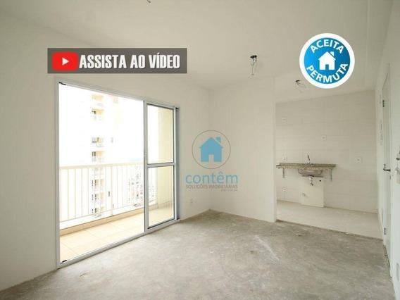 Ap1497- Apartamento Com 2 Dormitórios À Venda, 55 M² Por R$ 276.000 - Quitaúna - Osasco/sp - Ap1497