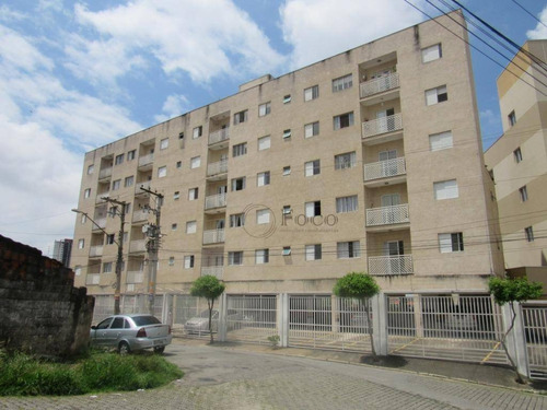 Apartamento Com 2 Dormitórios Para Alugar, 55 M² Por R$ 1.400/mês - Vila Milton - Guarulhos/sp - Ap1121