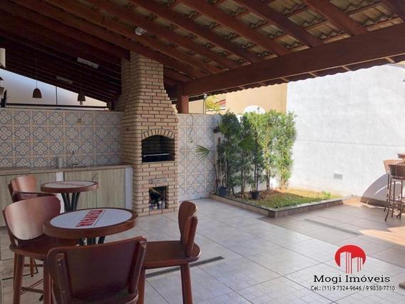 Casa Em Condomínio Para Venda Em Mogi Das Cruzes, César De Souza, 3 Dormitórios, 1 Suíte, 3 Banheiros, 2 Vagas - So476_2-943710