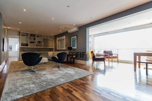 Apartamento À Venda, 161 M² Por R$ 2.500.000,00 - Campo Belo - São Paulo/sp - Ap41581