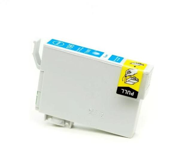 Cartucho De Tinta Para Epson 196 Cyan Compatível 13,5ml
