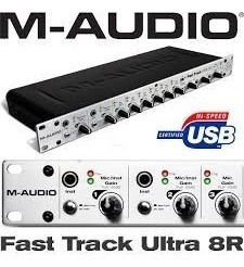 Interface 8 Canais M-audio Fast Track 8r Ultra