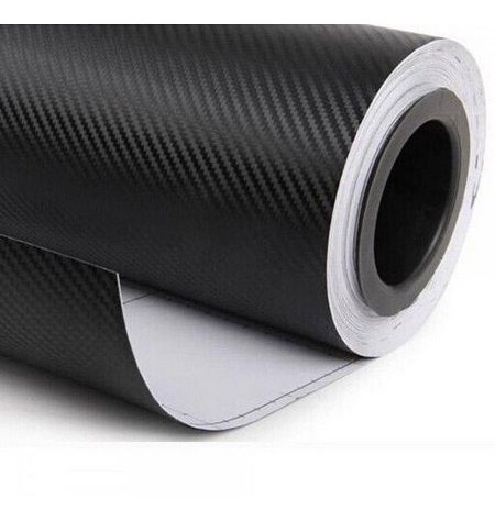 Adesivo Fibra De Carbono Automotivo Envelopamento 2 X 0,69 M