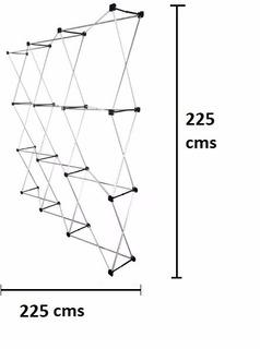 Pared Gráfica Publicitaria De 2.25 X 2.25, Araña De Aluminio