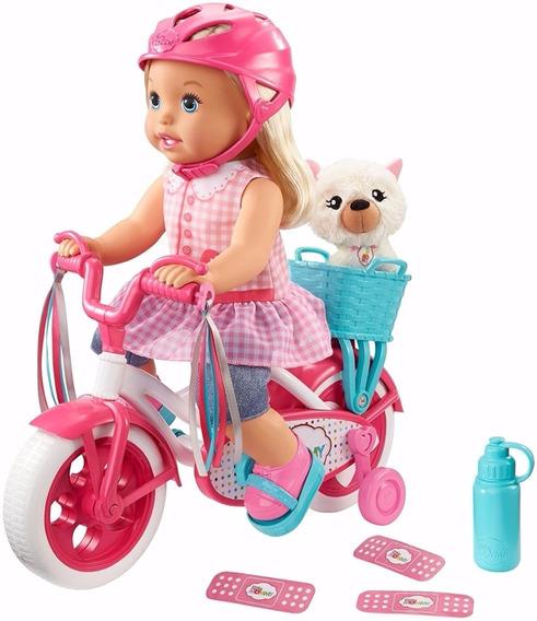 Boneca Little Mommy Meu Primeiro Passeio Mattel - Promoção