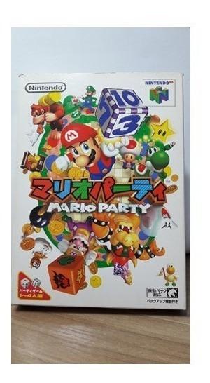 Mario Party N64 Nintendo 64 Original Na Caixa Japonês