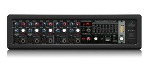 Imagen 1 de 5 de Behringer Pmp550m Consola Potenciada 5 Canales 500 Watts