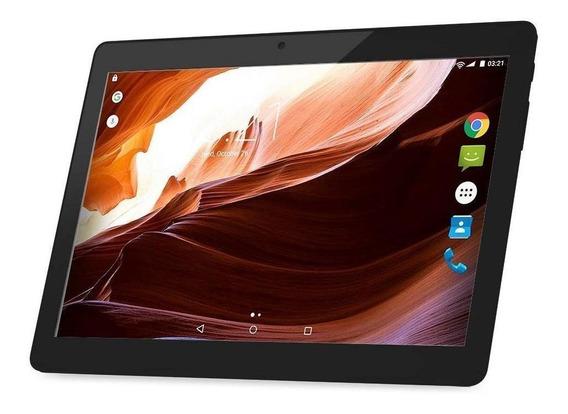 """Tablet Multilaser M10A 3G Lite 10"""" 8GB preto com memória RAM 1GB"""