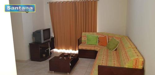 Apartamento Com 3 Dormitórios À Venda, 83 M² Por R$ 320.000,00 - Do Turista - Caldas Novas/go - Ap0538