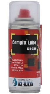 Lubricante Aceite Compitt Lube Seco Multiuso 180cc