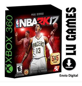 Nba 2k17 (midia Digital) Xbox 360