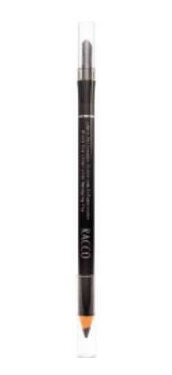 Lápis Delineador Com Esfumaceador Racco Preto 1,2g