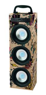 Stromberg Trap Parlante Portatil De 3 Speakers 12w Rms Usb