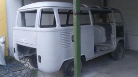 Vw Van Kombi Samba Bus 1969 Dock Ok - Entrego Pintada
