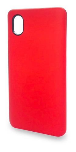Protector Rígido Alcatel 1b/tcl L7 Lite Color Rojo