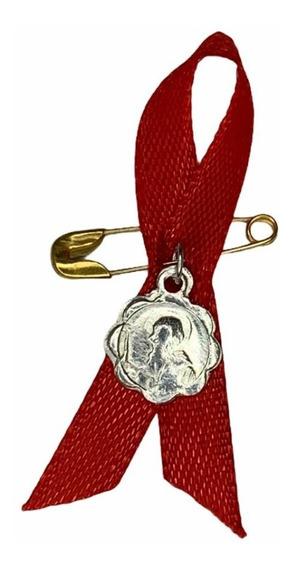 Medalla Plata 925 San Benito De Bebé Modelo Santísimo