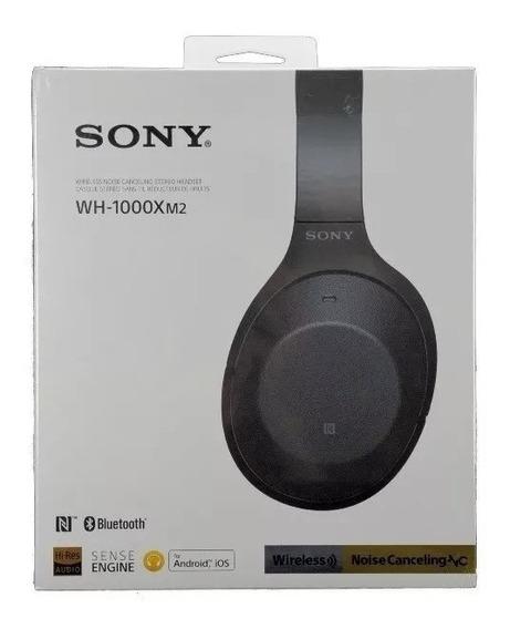 Fone De Ouvido Sony Wh-1000xm2 Bluetooth Preto - Com Nf