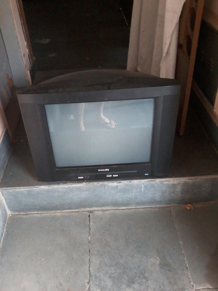 Tv Philips 21 Polegadas (com Defeito)