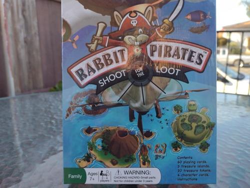 Juego De Mesa En Inglés Conejos Piratas Busca El Tesoro