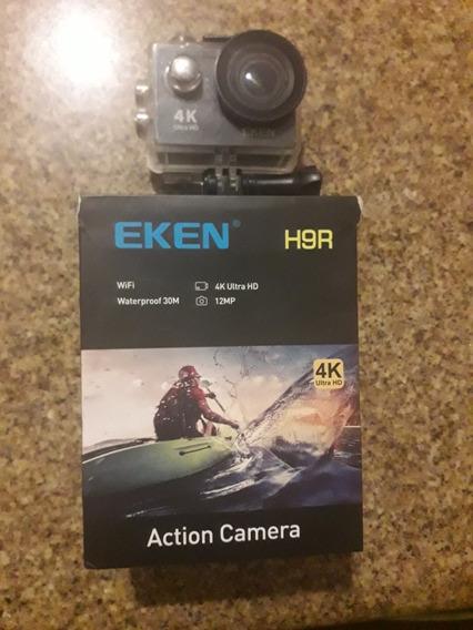 Câmera Eken H9r Com Controle Acessórios