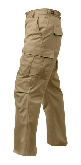 Pantalon Rothco Cargo Bdu Premium Original Emol