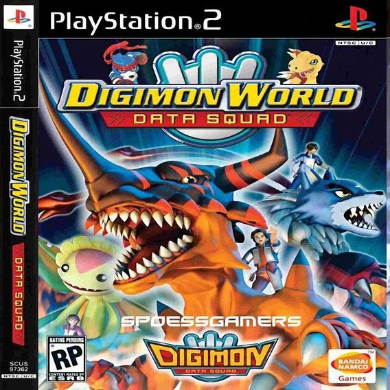 Digimon World Data Squad Ps2 Desbloqueado Patch