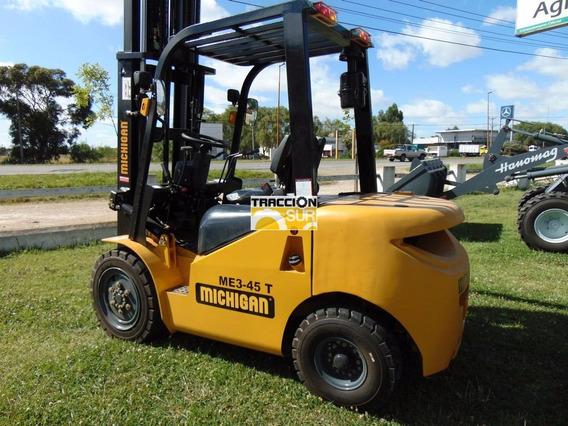 Autoelevador Michigan 3 Tn, Altura 4.50 Mt Nuevo Diesel
