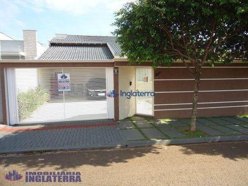 Casa À Venda, 180 M² Por R$ 450.000,00 - Residencial José B Almeida - Londrina/pr - Ca0506
