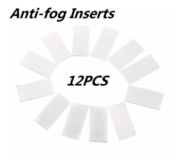 Kit 12 Pastilhas Anti Embaçante Fog Go Pro Hero 5 4 3+ 2 6 7