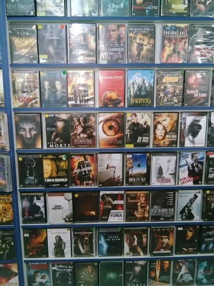 Acervo De Dvds Com 500 Filmes Variados - Frete Grátis Br