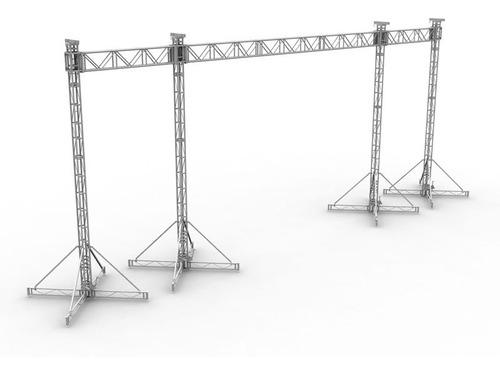 Imagen 1 de 6 de Max Support Mx 27 - Porteria 9m X 7m De Altura