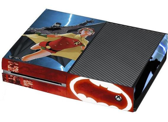 Skin Xbox One Fat - Batman Cavaleiro Das Trevas Hq