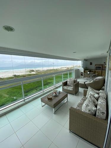 Imagem 1 de 30 de Apartamento Com 4 Dormitórios À Venda, 177 M² Por R$ 2.500.000,00 - Praia Do Forte - Cabo Frio/rj - Ap0228