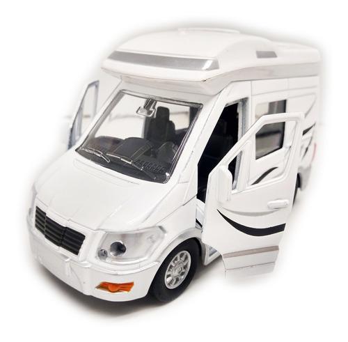 Auto Casa Rodante Con Luz Y Sonido - Teamsterz