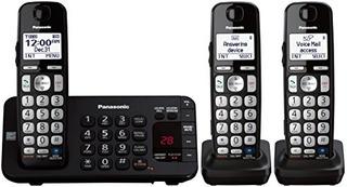 Telefono Panasonic Kx-tge243b Contestadora + 2 Extensiones