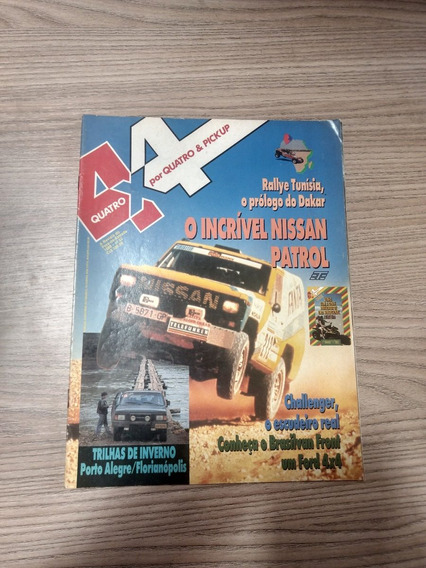 Revista 4x4 52 Nissan Patrol Trilhas De Inverno Front 654