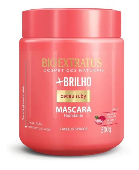 Máscara Bio Extratus +brilho Cacau Ruby 500g