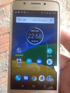 Moto G5 X1672 Funciona Tudo Aparelho 32 Giga De Memória