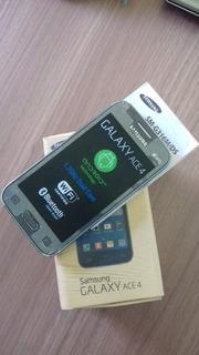 Celular Samsung Galaxy Ace 4 Com Tela Quebrada