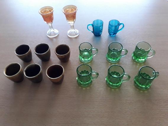 Set De 16 Vasitos Chiquitos Tipo Shot