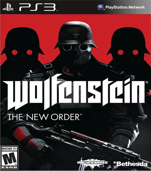 Wolfenstein The New Order - Jogos Playstation 3 Ps3