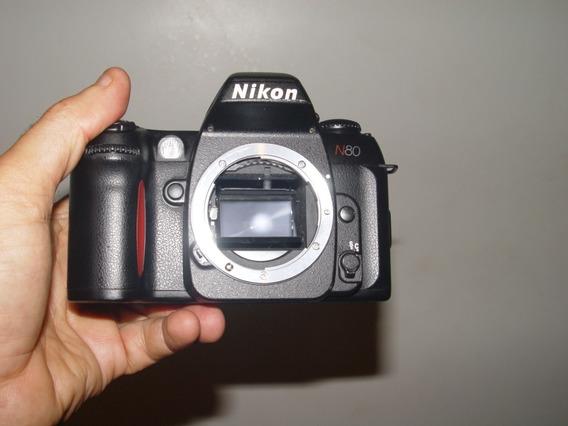 Câmera Fotográfica Nikon (analógica ) N80 Corpo