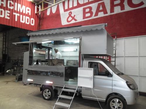 Food Truck Lifan Minas Treilher (montagem Sem O Veículo)