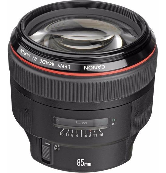 Objetiva Canon Ef 85mm F/1.2 L Ii Usm - Temos Loja Física