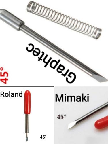 Imagen 1 de 4 de Hojillas Para Plotter De Corte Roland, Mimaki Y Graphtec