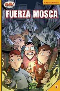 Fuerza Mosca - Alberto Moreno - Diego Greco - Comiks Debris