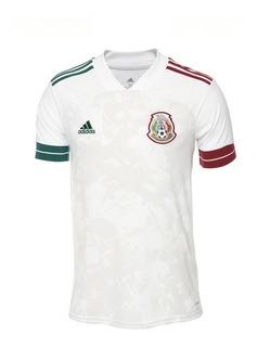 Jersey Playera Mexico 2020 Visita Blanca La Nueva