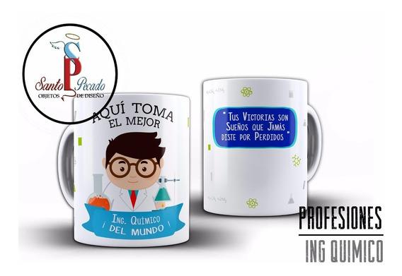 Quimico Taza Porcelana Ingeniero Quimico Ingeniera Quimica